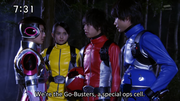 Go-Busters & Shelly