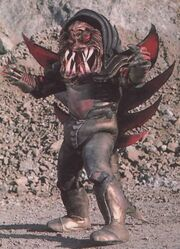 Gori Beast with second face full profil