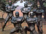 Five Space Ninjas
