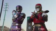 Gokai Change Jiraiya & Janperson