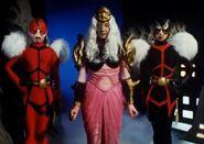 Space Mafia Queen and servants