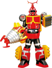 B-Robo 01-Drilltto-Kabutack Super Mode
