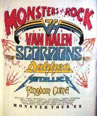 Monsters of Rock 88