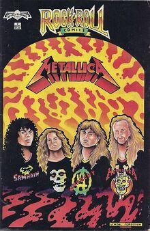 Metallicacomic