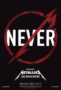 Metallica-Wiki Metallica-Through-the-Never Film Poster 001