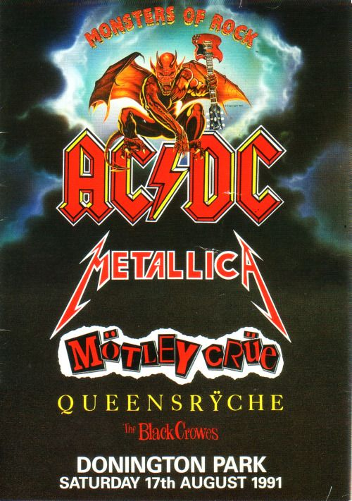 Monsters of Rock '91 | Metallica Wiki | FANDOM powered by Wikia
