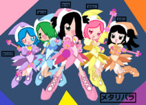 MetalliPara as MottoOD characters! (Metallica PriPara)