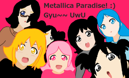 Metallica Paradise members