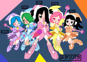 MetalliPara as MottoOD characters! (Metallica + PriPara)