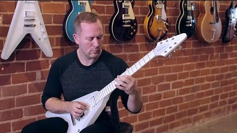 "The Epiphone Brendon Small ""Snow Falcon"""