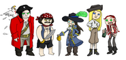 Commission PIRATES by ftw302