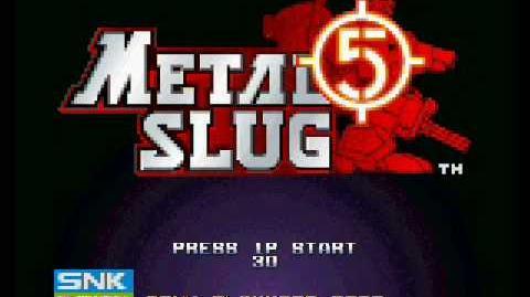Metal Slug 5 - Fierce Battle Soundtrack