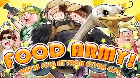 FOOD ARMY!:MSA EXTRA OPS