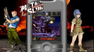 Metal Slug Mobile 4 Java Game Trailer