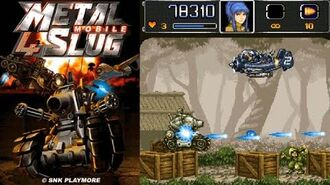 Metal Slug Mobile 4 JAVA GAME (I-Play 2008 year) FULL WALKTHROUGH