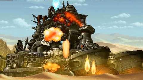Metal Slug Five Elite Mission 4 Boss Gameplay