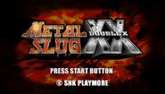 Metal Slug XX Logo