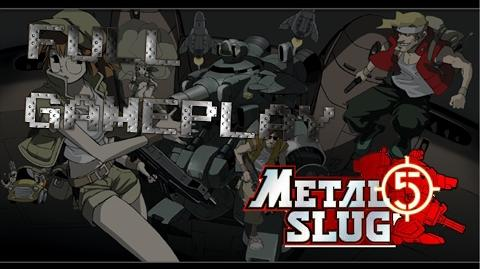 【PS2】メタルスラッグ5 - FULL GAMEPLAY