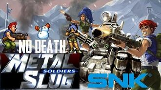 Metal Slug Soldiers (UMS TC) - One Life Full Game (No Death, HARD) Roberto