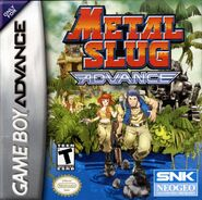 Metal Slug Advance Cover