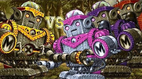 Metal Slug Attack Golden Jupiter King vs. The Three Jupiters 3 Rounds (60FPS)