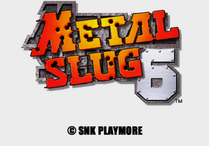Metal Slug 6 Logo