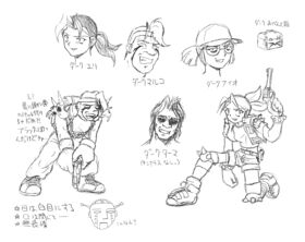 Evil Characters Artwork
