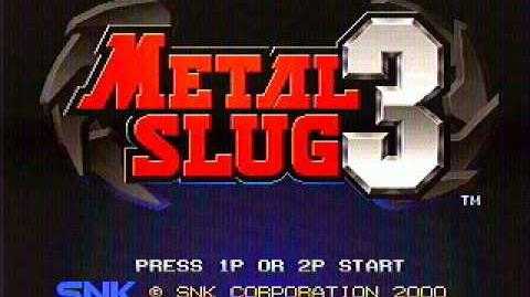 Metal Slug 3 - Final Attack