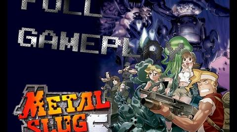 【PS2】メタルスラッグ6 - FULL GAMEPLAY