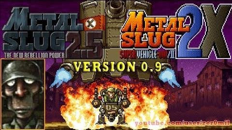Metal Slug 2.5 v0.9 - Metal Slug 2X Tequila Gameplay. (Fangame)