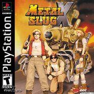 Metal Slug X PSX Cover