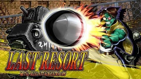 LAST RESORT: MSA EXTRA OPS