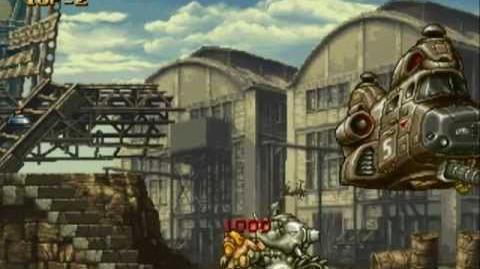 Metal Slug - All Boss Battles