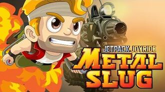 Jetpack Joyride Metal Slug - Gameplay Trailer