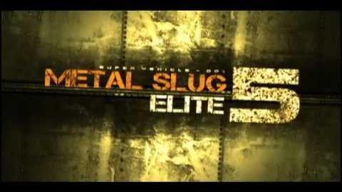 Metal Slug 5 Elite Official Trailer (Unfinished)