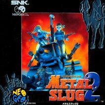Metal Slug 2 Neo-Geo CD Cover