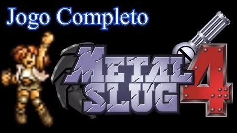 Longplay Metal Slug 4 (PS2) com Nadia - Um Jogador Jogo Completo