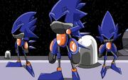 Cosmic chase sonic bots