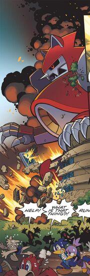 Titan metal attack
