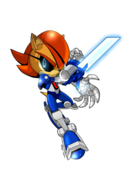 Weaponized Mecha Sally