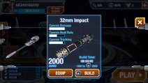 32mm impact