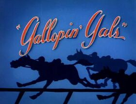 Gallopin Gals Title Card