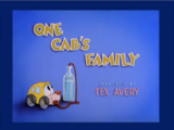 One Cab's Family
