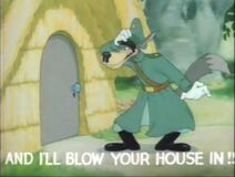 And i'll blow your house in