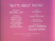 Mutts About Racing-TV credits