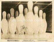 8x10 bowling alley cat R47 KS00069 L