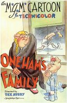One ham's family 1943 poster