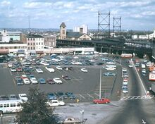 DOWNTOWN BPT. CT 1967 - WATER ST - FAIRFIELD AVE