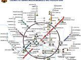 Схема Московського метрополітену