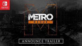Metro Redux on Nintendo Switch™ Announce Trailer PEGI